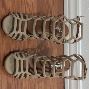 High Heel Nude Adjustable Stiletto heel